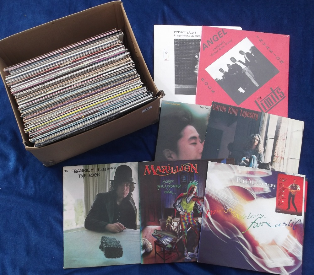"Lot 43 - Vinyl Records, a selection of 60+ albums and 12"" singles, to include demo discs, some duplication,"