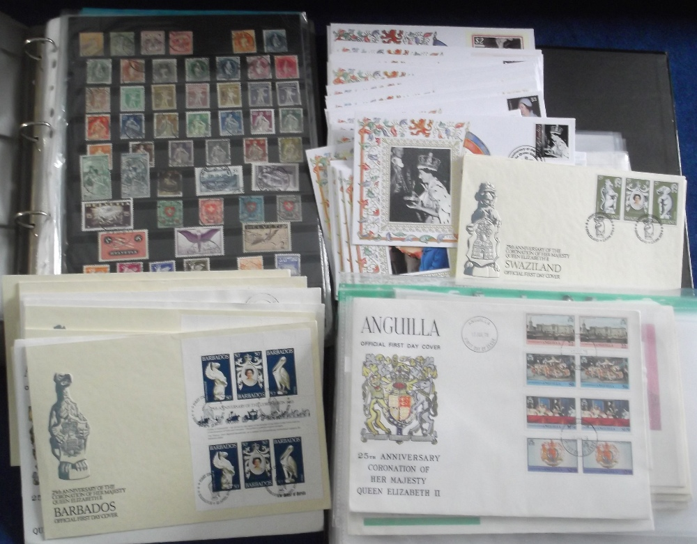 Lot 4 - Stamps & Covers, GB, QE2 collection of Anniversary covers in folder and loose for 25th, 30th, 50th &
