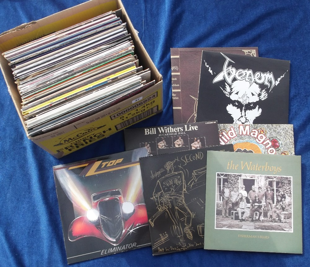 """Lot 47 - Vinyl Records, 70+ albums and 12"""" singles, to include demo discs, some duplication, various genres"""