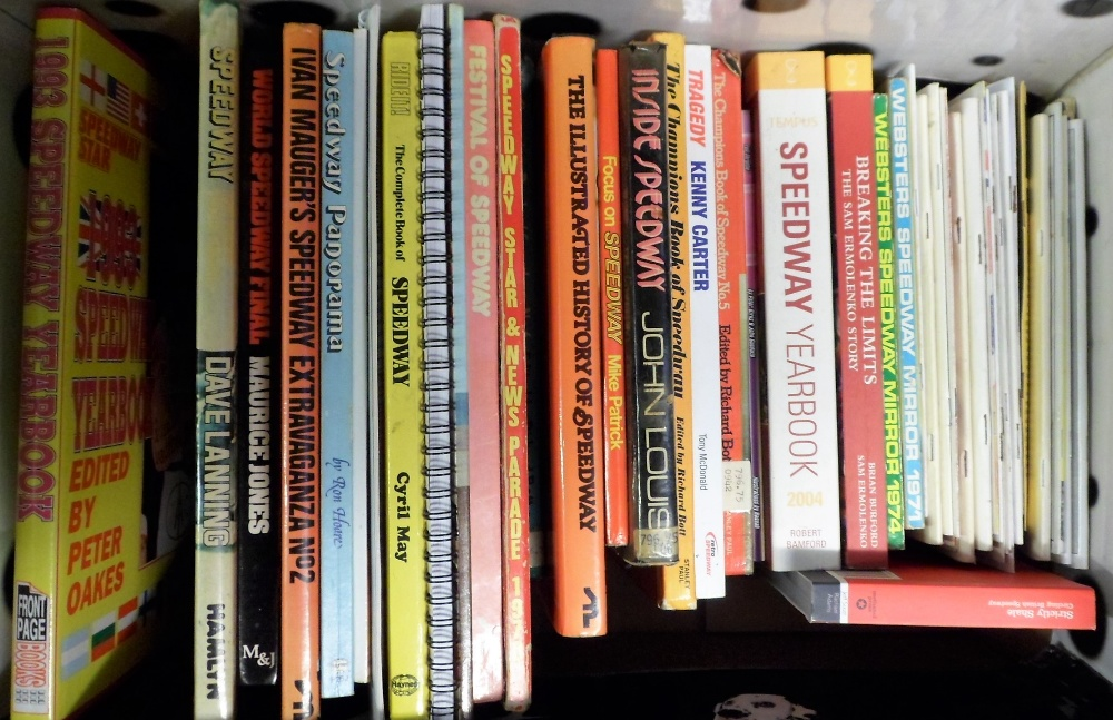 Lot 12 - Speedway books and annuals, a collection of 50+ booklets, annuals and magazines, inc. The People