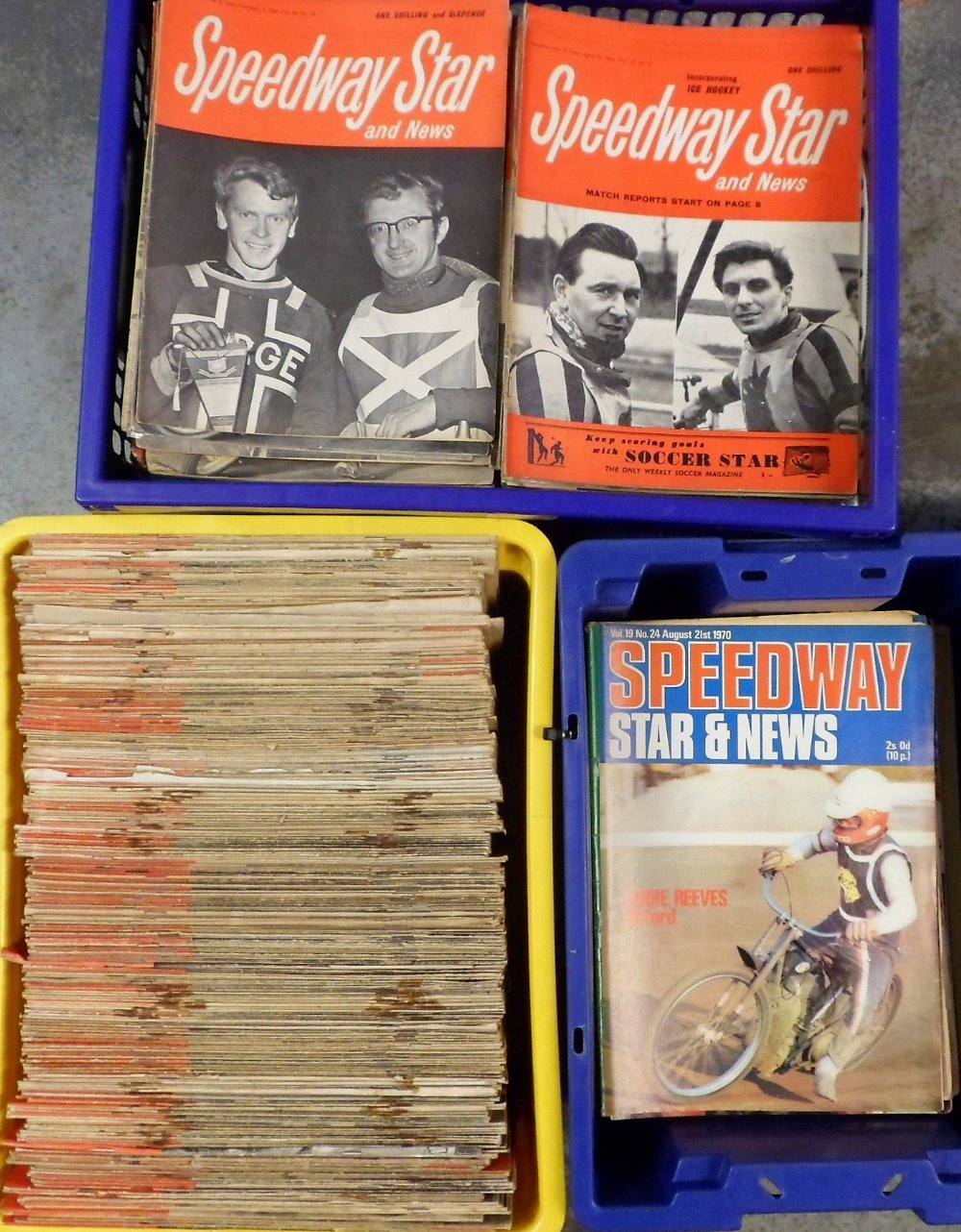 Lot 25 - Speedway Magazines, a collection of approx. 500 magazines dating from the 1950s to the 1980s to