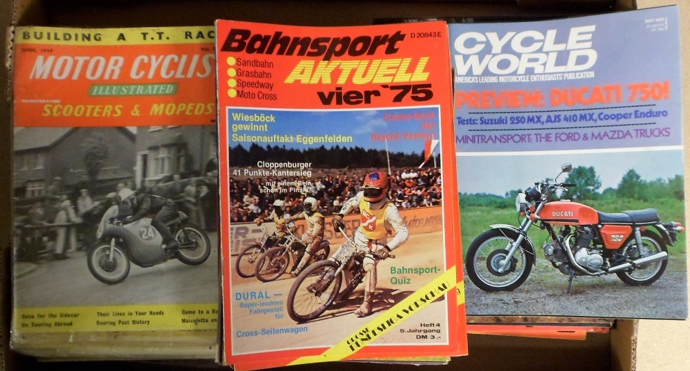 Lot 47 - Motor Cyclist Magazine and Motorcycle, Scooter and Three Wheeler Mechanics Magazine dating from