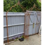 Lot 22 - Two Garden Rose Arches.