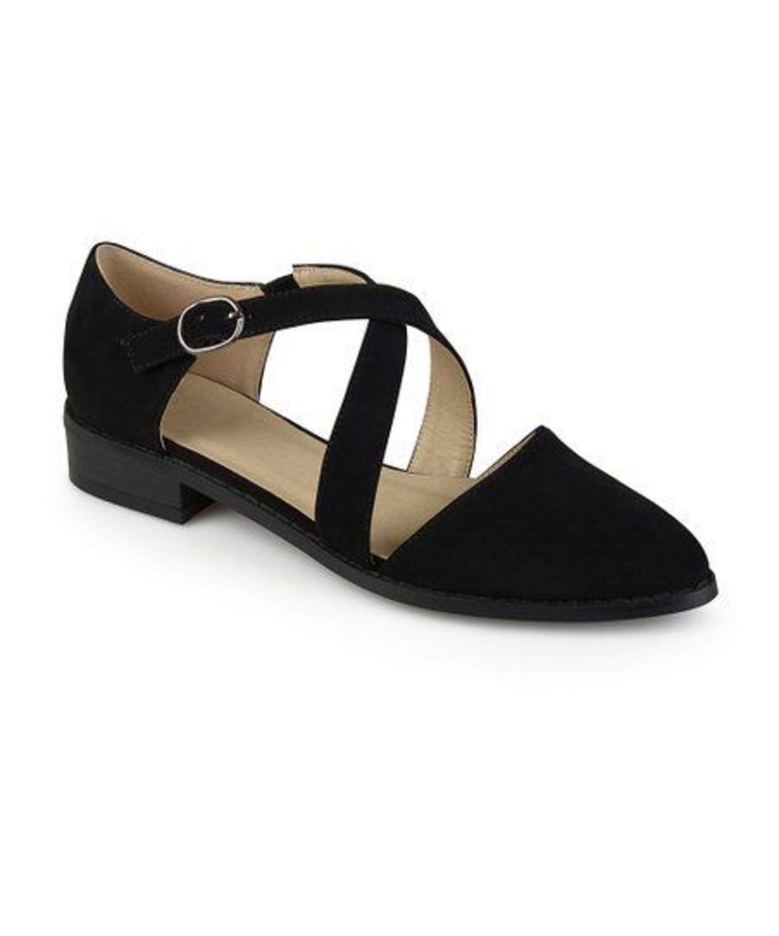 Lot 53 - Bella Cora Black Elina Flat (Uk Size:5/Us Size:7.5) (New With Box) [Ref: 52534225-H-002]