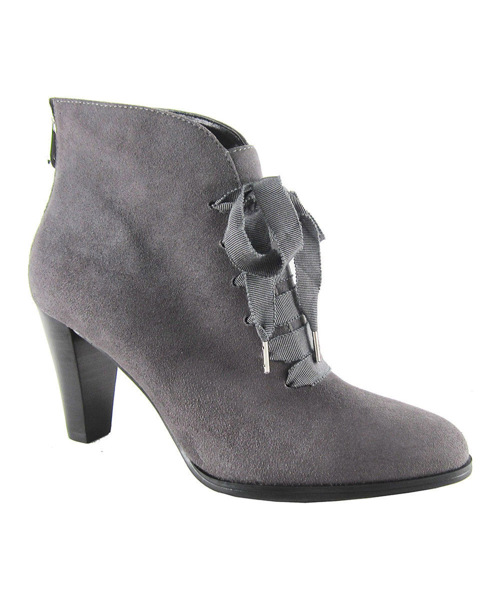 Lot 10 - Adrienne Vittadini® Night Tino Suede Bootie (Uk Size:4.5/Us Size:77) (New With Box) [Ref: 34993612-