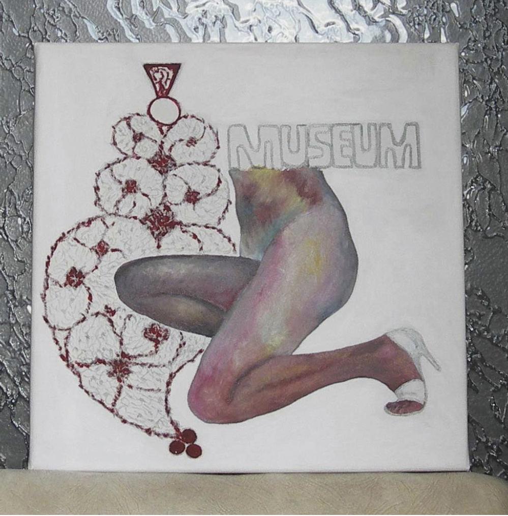 Lot 116 - Thibaudin Monique (XXe-XXIe ) Img po 114 - Acrylic on canvas -