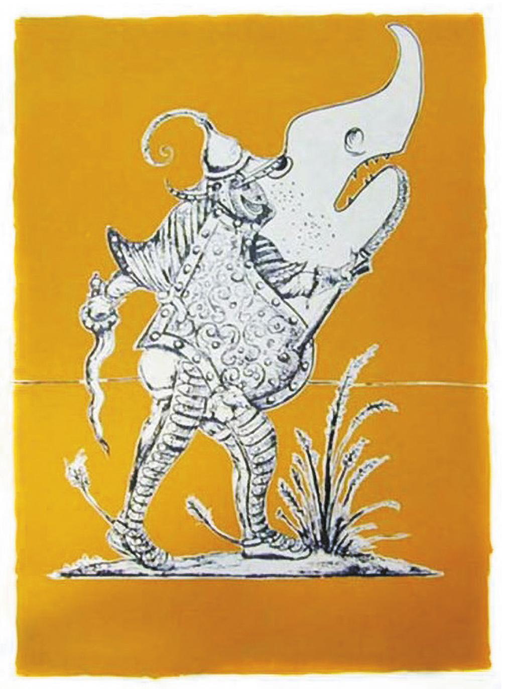 Lot 87 - Dalí Salvador (1904-1989) Songes drôlatiques de Pantagruel, 1973 Lithograph - N° [...]