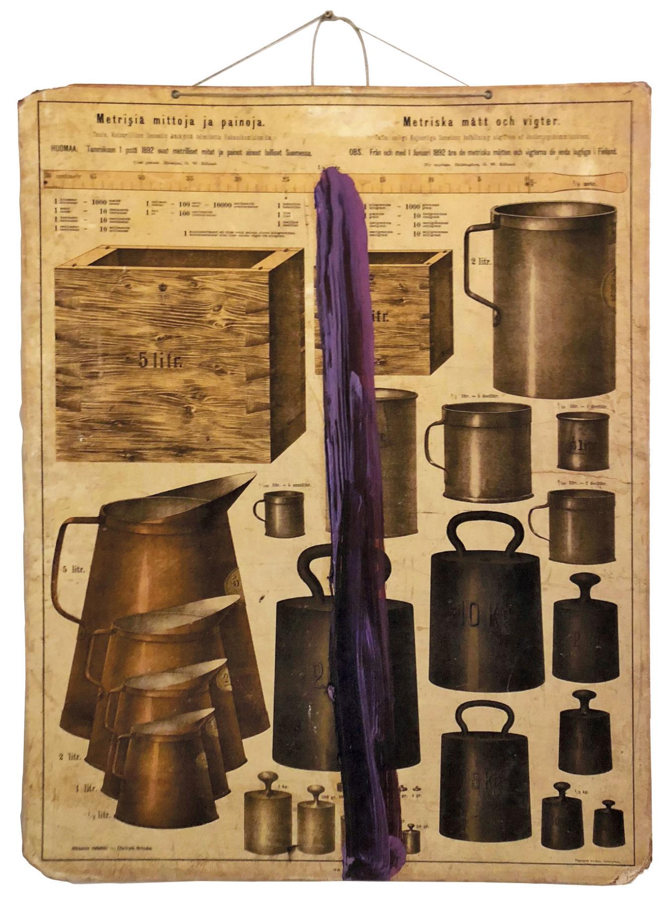 Lot 56 - Schnabel Julian (1952) Untitled, 2016 - Carbon print on fiber paper, mounted on board [...]