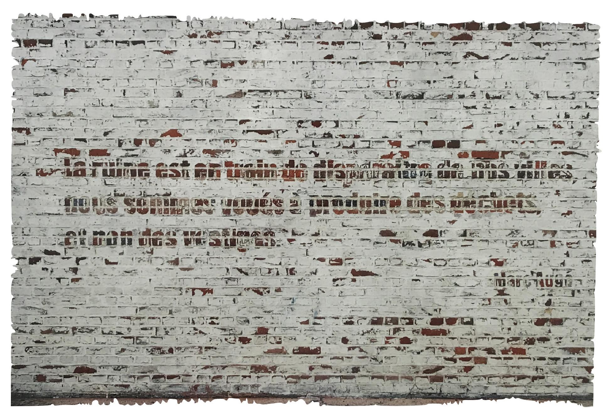 Lot 114 - Ruiz Vida Manuel (XXe-XXIe ) « Ruines » N° 5 - 0il 0n canvas - 50,5 x 70,5 cm -