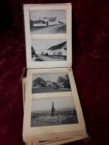 Lot 84 - An old photographic album containing numerous old photographs and postcards early 1910-20 era.