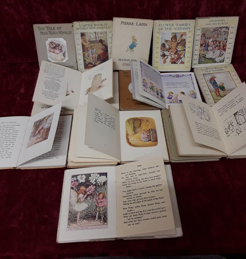 Lot 406 - Children's Books including Potter (Beatrix ).
