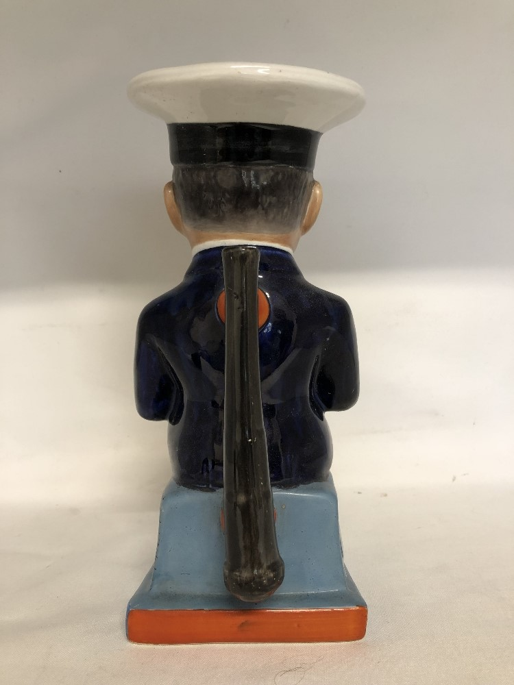 Lot 31 - A toby jug depicting Admiral Beatty (Dread Nought).