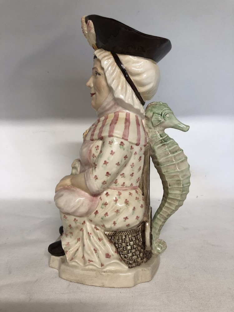 Lot 58 - Martha Gunn toby jug by Kevin Francis from the Classic Collection No 6 of 100 made.