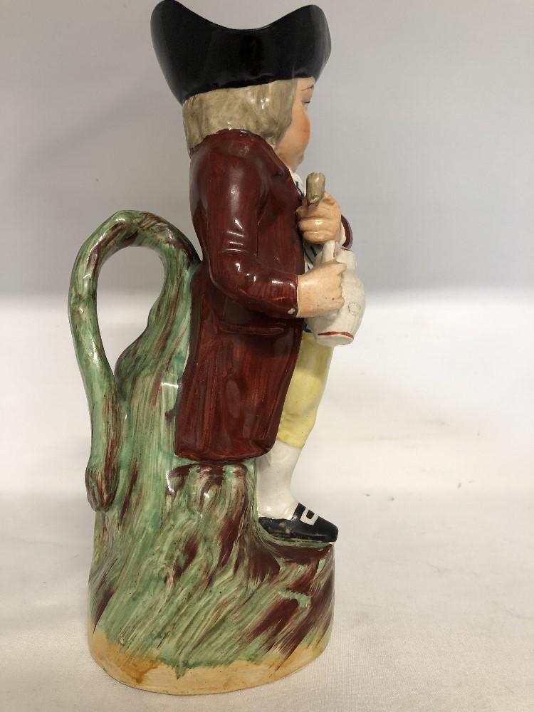 Lot 57 - The Hearty Good Fellow toby jug (circa 1900).