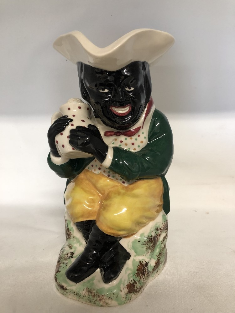 Lot 55 - The Blackman Toby by Kevin Francis from the Replica Collection No 30 of 250 made.