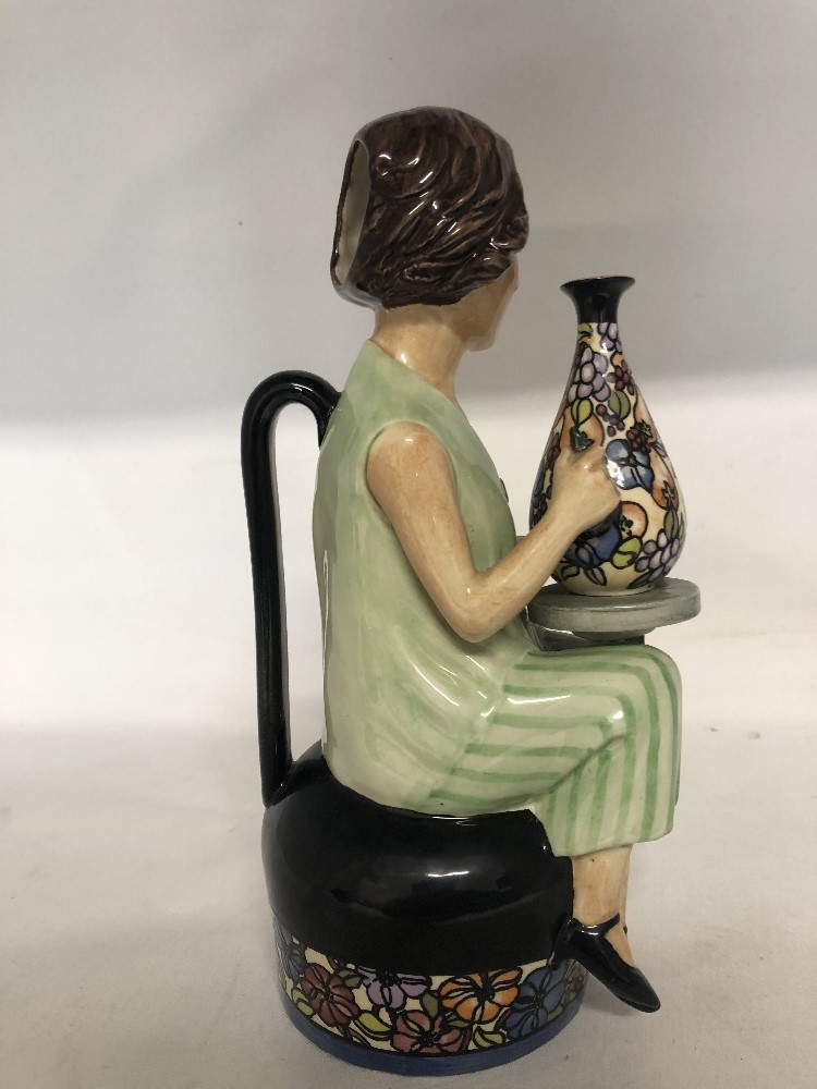 Lot 41 - Charlotte Rhead Toby by Kevin Francis No 14 of 350 made.