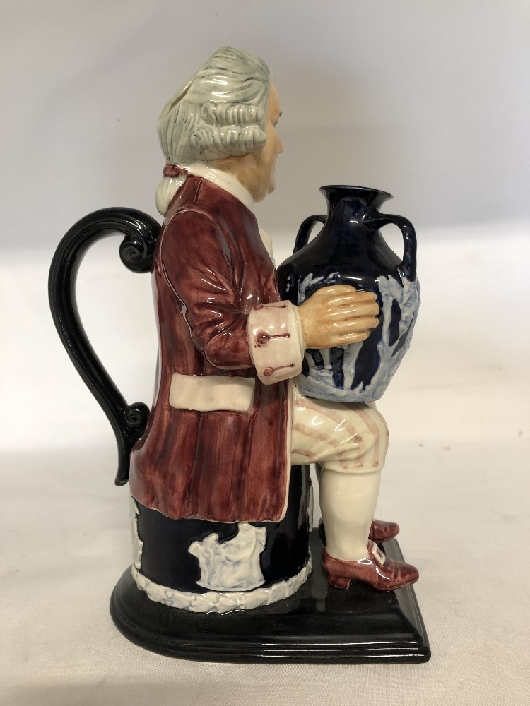 Lot 54 - Josiah Wedgwood TobyJug by Kevin Francis No 36 of 350.