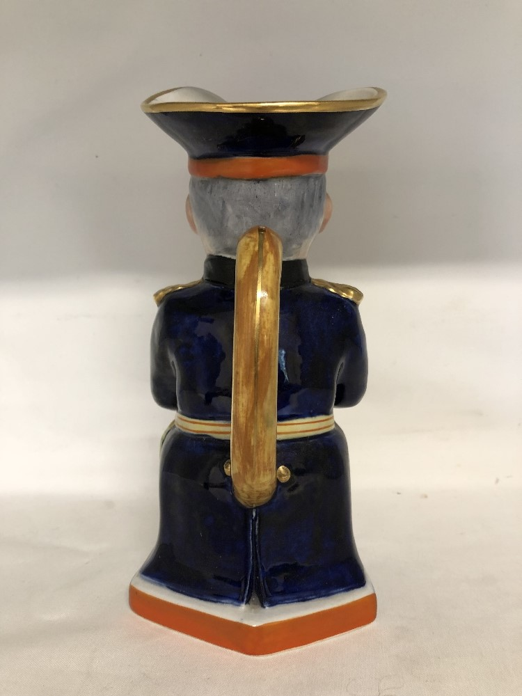 Lot 34 - A toby jug depicting Lord Kitchener (Bitter for the Kaiser).