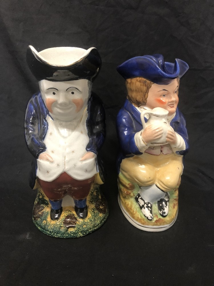 Lot 19 - Two toby jugs