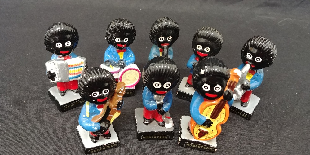 Lot 24 - A set of Robinson's Gollie band musicians.