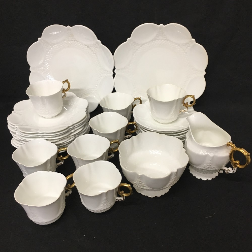 Lot 40 - An Aynsley bone china tea set with manufacturer's mark 1875 -1890.