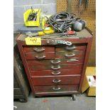 Dayton 9-Drawer Rolling Tool Box