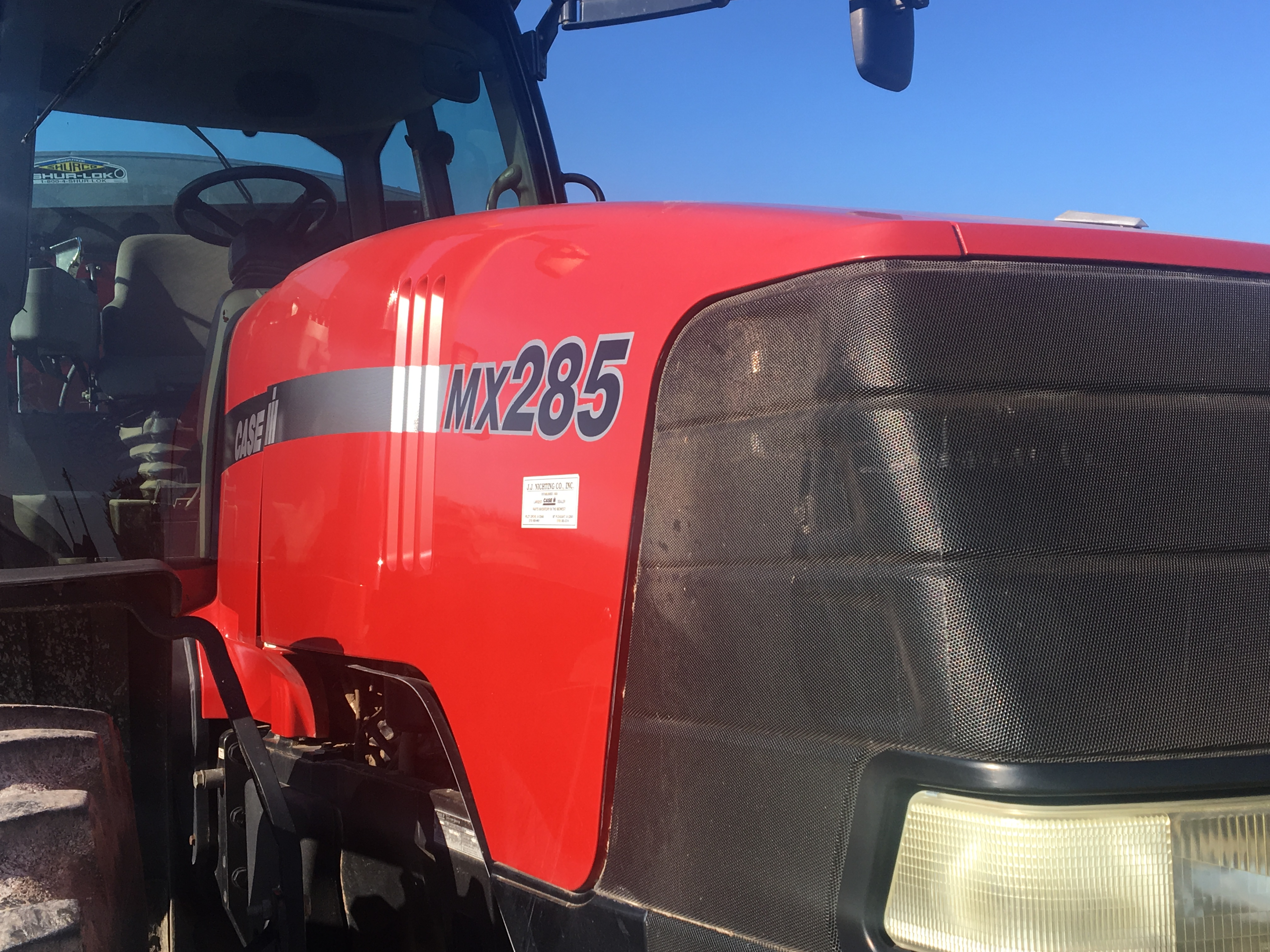 Lot 15 - 2003 Case IH MX285 4WD Cab Tractor