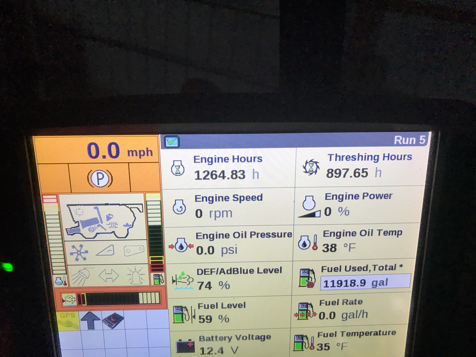 Lot 16 - 2014 Case IH 5130 AFS, PRWD, Axial Flow Combine