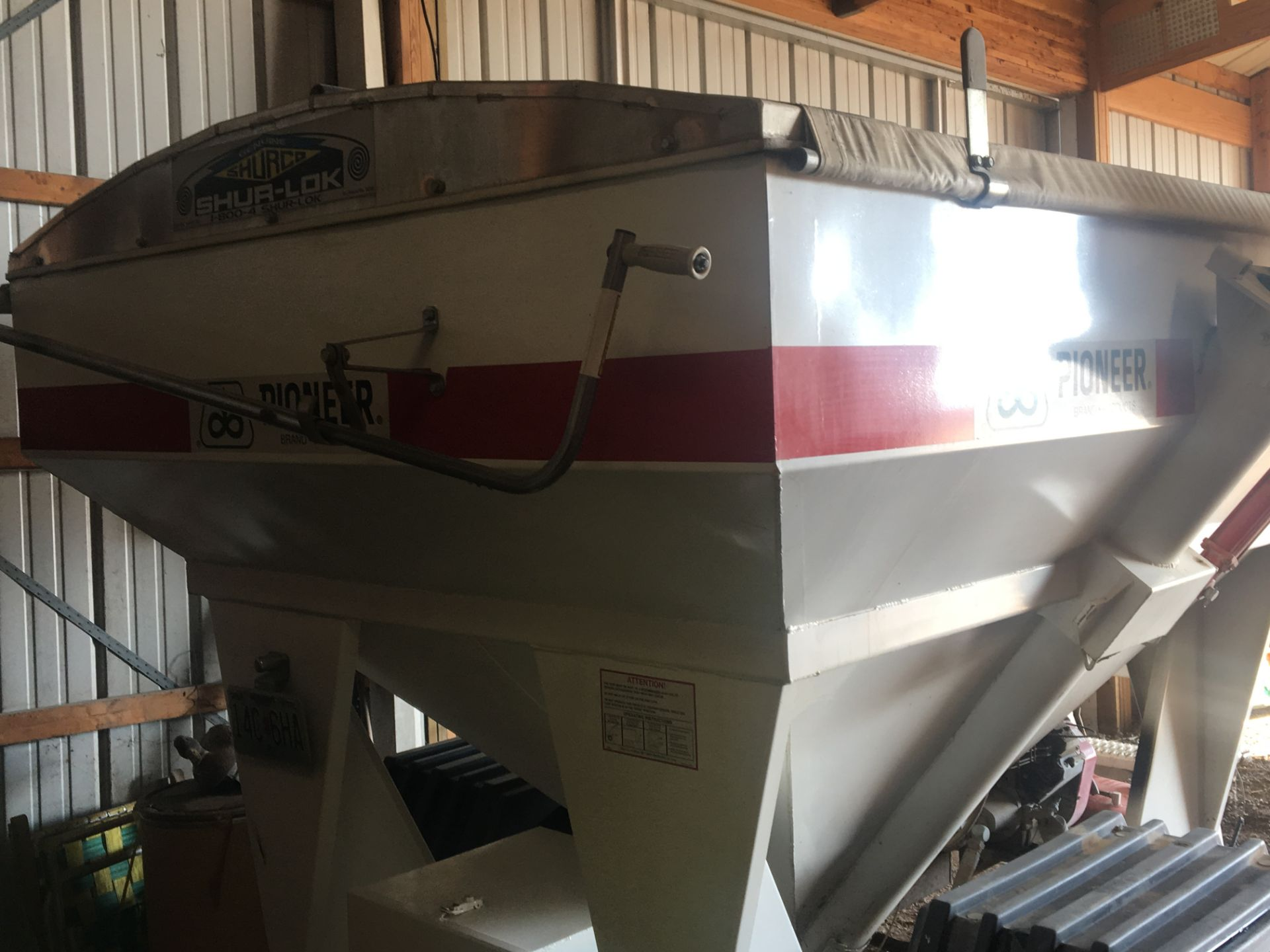 Lot 3 - Pioneer (Yield Comparison Scale) Weigh Wagon
