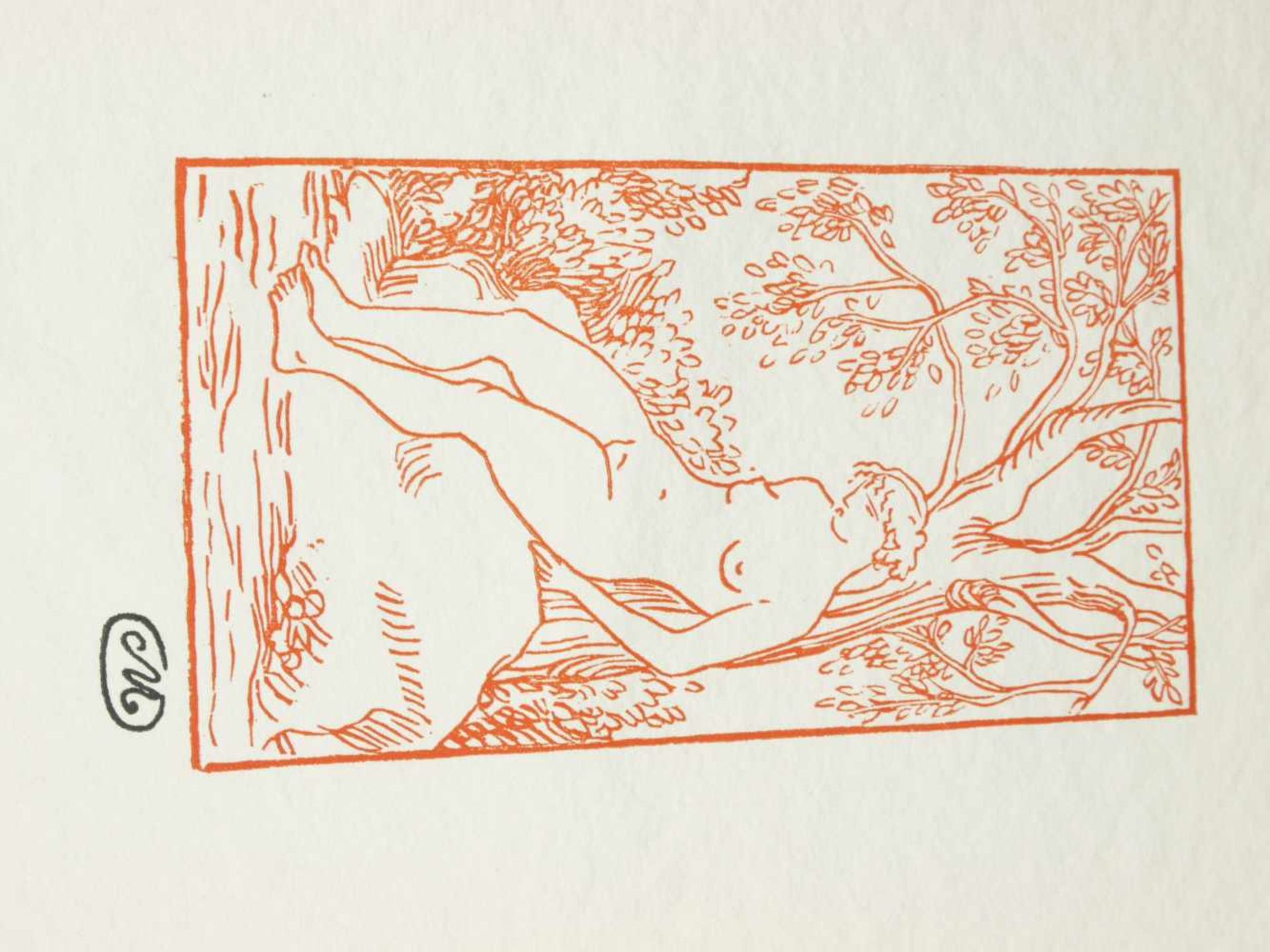 Los 17 - Maillol, Aristide (1861-1944) - Jungfrauen 1976 Euroart 127/2000Zwölf Original-holzschnitte zu