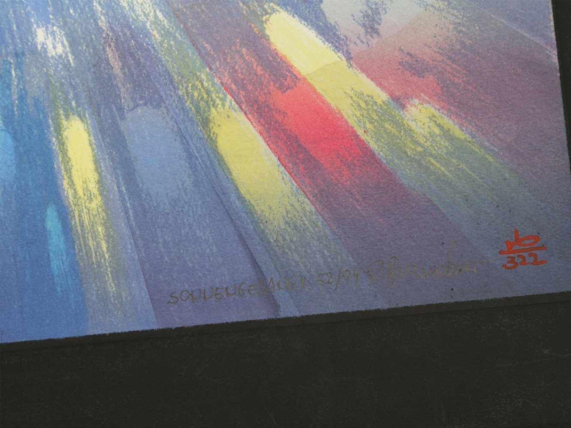 Los 39 - Brandner, Reinhard (1938) - Sonnengesang II und IV Manugrafien 52/99 und 56/99Aufregende