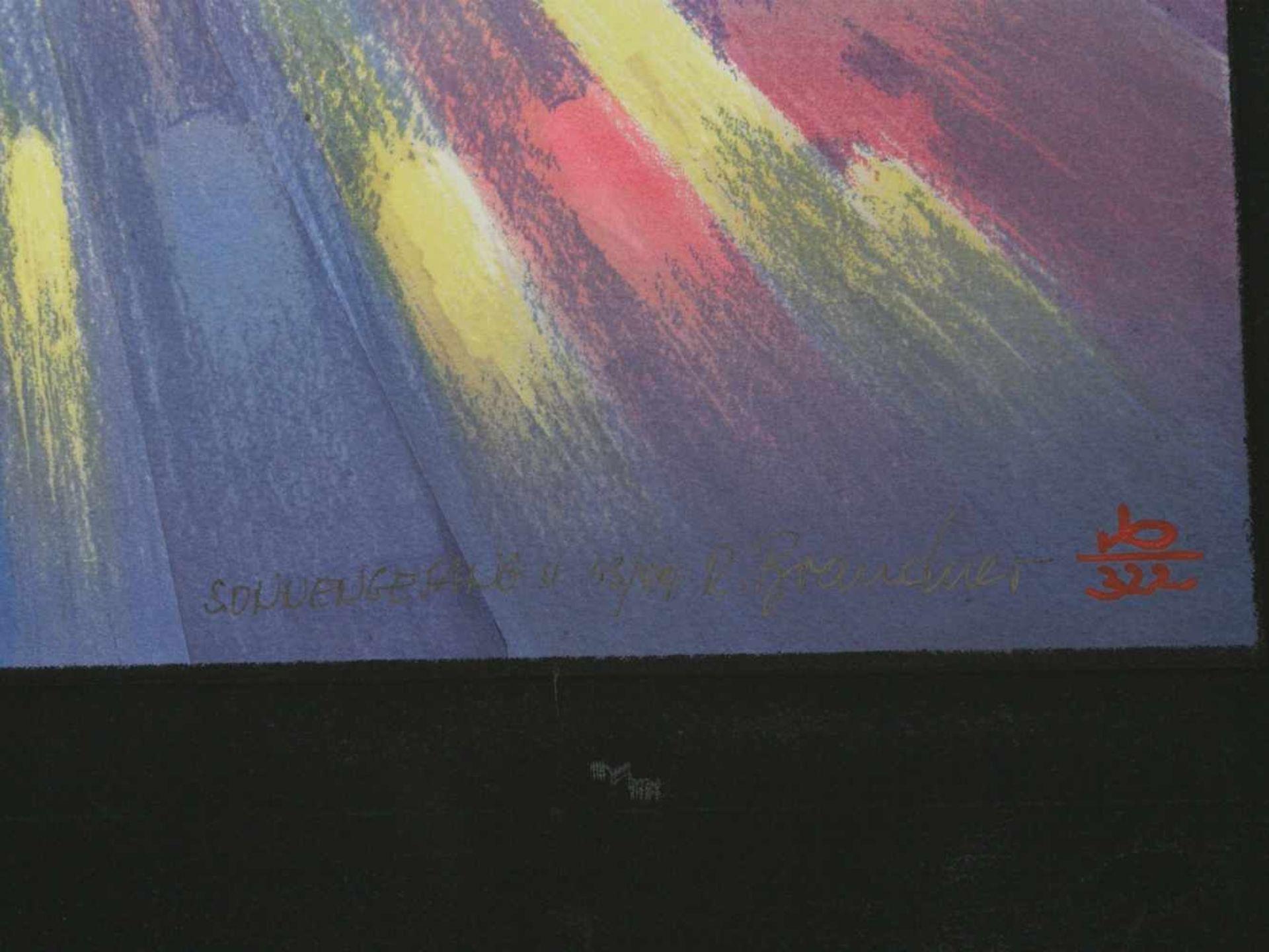 Los 34 - Brandner, Reinhard (1938) - Sonnengesang II und IV Manugrafien 43/99 und 43/99Aufregende