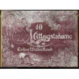 Rauh, Caspar Walter (1912-1983) - Mappe Sanfte Mittagsträume 10 Radierungen 1971 96/100Zehn