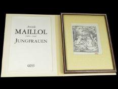 Maillol, Aristide (1861-1944) - Jungfrauen 1976 Euroart 127/2000Zwölf Original-holzschnitte zu