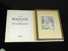 Maillol, Aristide (1861-1944) - Jungfrauen 1976 Euroart 119/2000Zwölf Original-holzschnitte zu