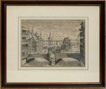 Graff, Johann Andras (1637-1701) - Die A. C. 1700 Neu Erbaute Brucken wie solche gegen dem Spital zu