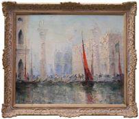 BENALI - Beck, Paul Herbert (1920-2010) - Der DogenpalastAtmosphärische Ansicht des Venediger