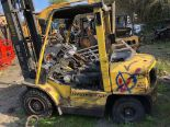 Lot 152 - HYSTER 4 TONNE FORKLIFT SELLING AS SPARES / REPAIRS *PLUS VAT*