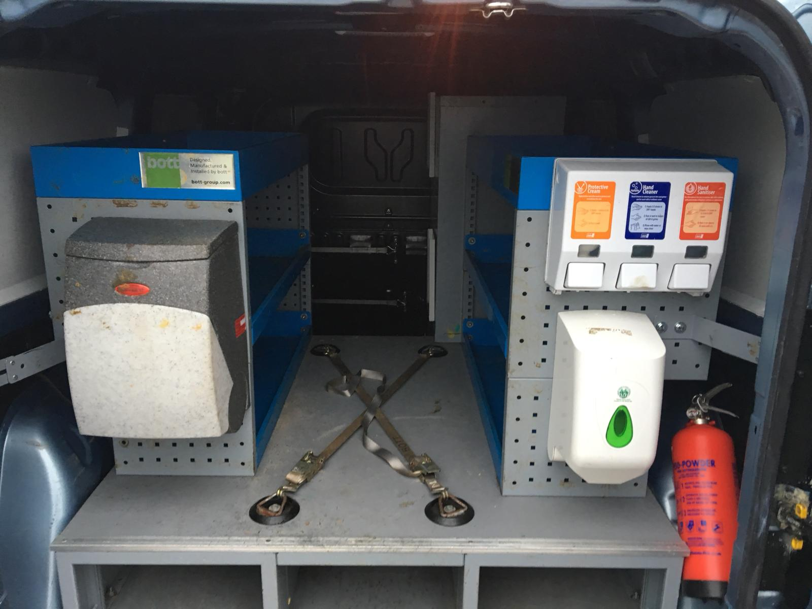 Lot 52 - 2012/12 REG VAUXHALL COMBO 2300 L2H1 CDTI BLUE DIESEL PANEL VAN, SHOWING 0 FORMER KEEPERS *NO VAT*