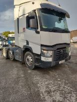 Lot 33 - 2014/64 EURO 6 RENAULT TRUCKS WHITE DIESEL HEAVY HAULAGE TRACTOR UNIT, ONE OWNER FROM NEW *PLUS VAT*