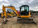 Lot 38 - 2011 JCB 8055 ZTS TRACK MINI DIGGER / EXCAVATOR WITH WIDE BUCKET *PLUS VAT*