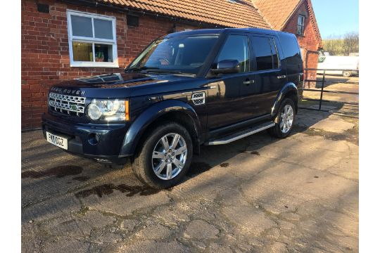 KB - 2011/11 REG LAND ROVER DISCOVERY SDV6 AUTOMATIC 245