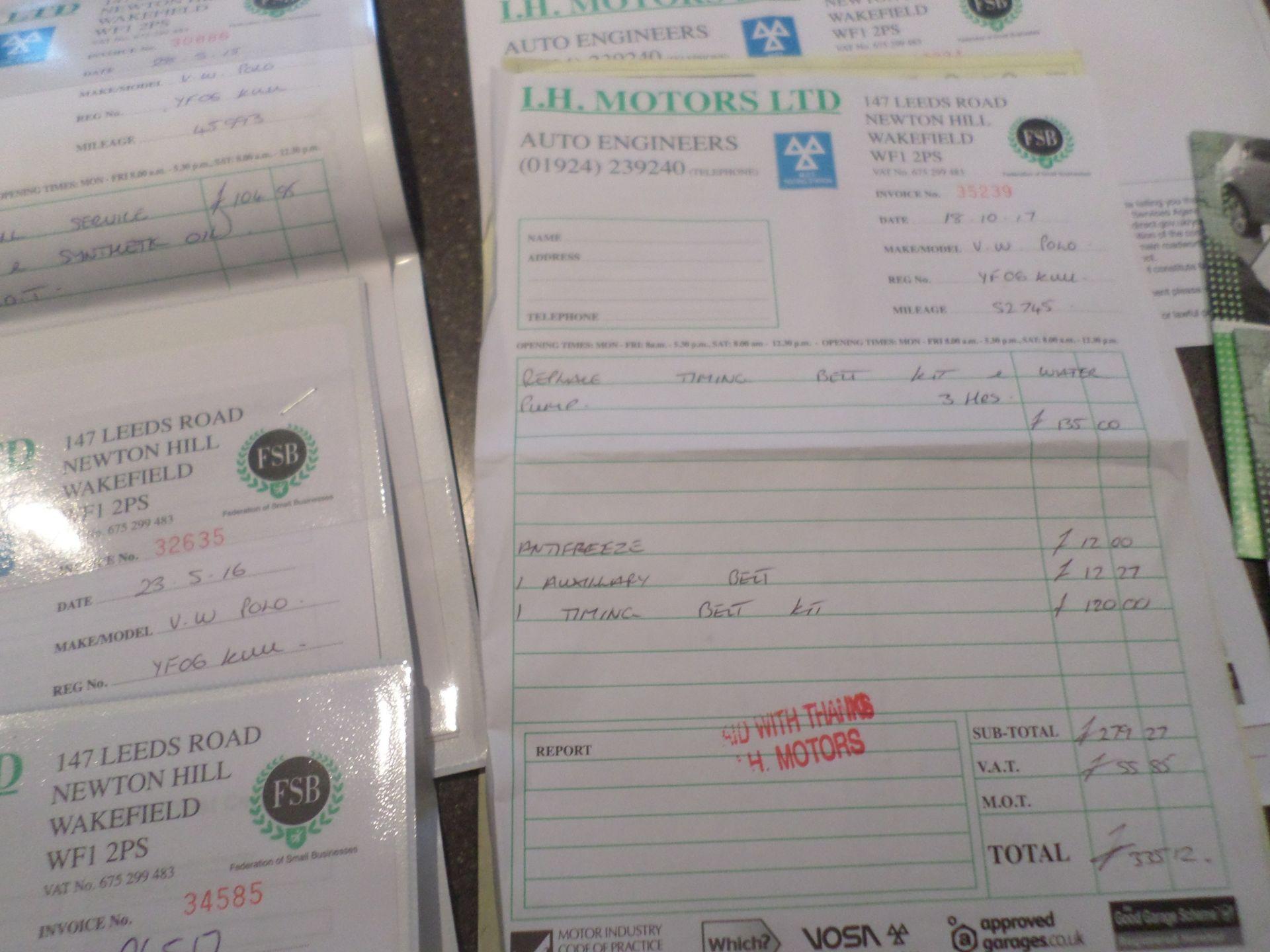 Lot 37C - 2006/06 REG VOLKSWAGEN POLO S 75 1.4 PETROL BLUE 5 DOOR HATCHBACK, FULL SERVICE HISTORY *NO VAT*