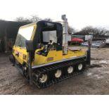 Lot 70 - SCOT TRACK GLENCOE 8X8 ATV, C/W TRACKS AND CHERRY PICKER *PLUS VAT*