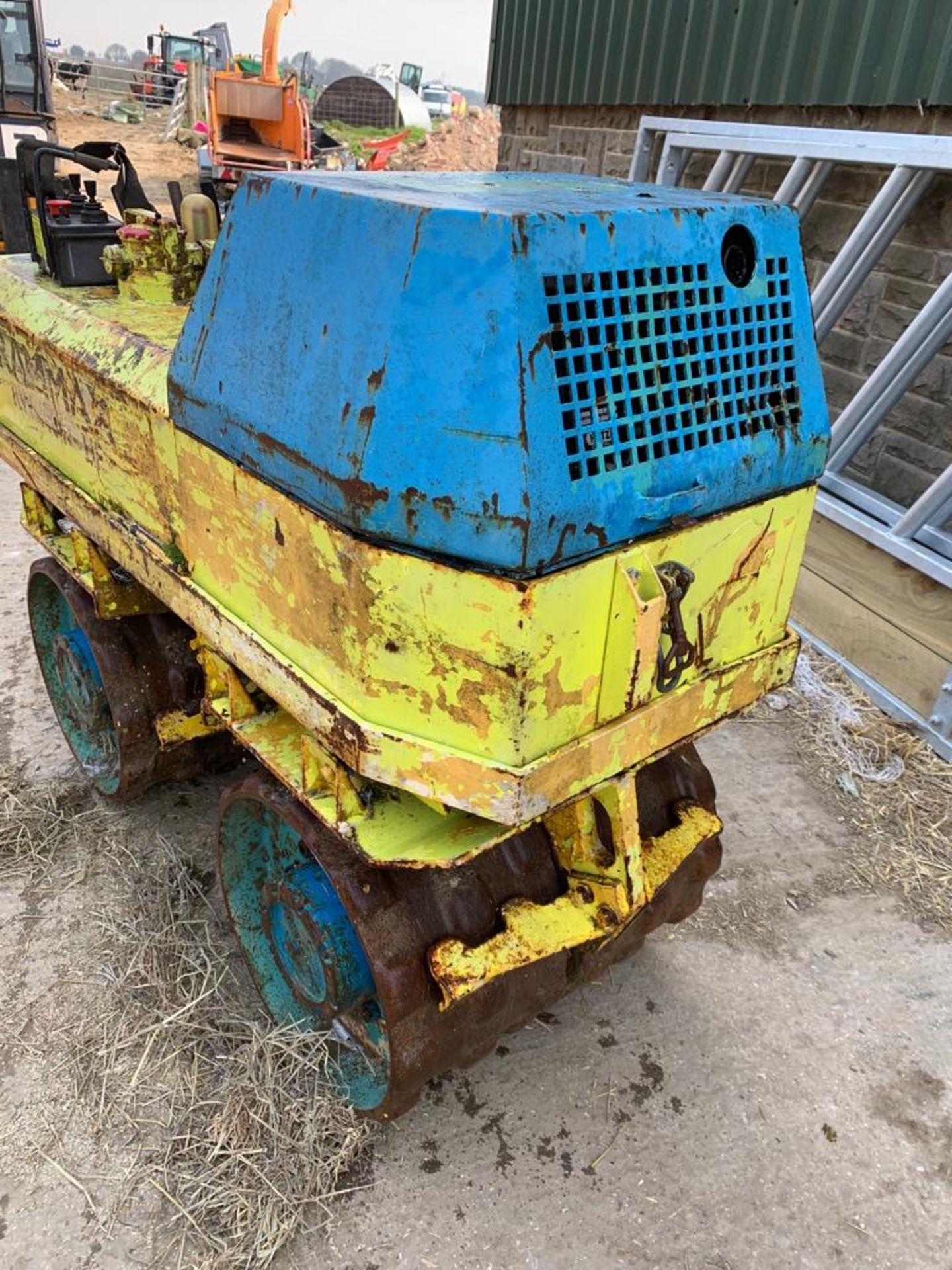 Lot 75 - RAMMAX RW 1404 HF REMOTE CONTROLLED TRENCH ROLLER, HATZ DIESEL ENGINE *PLUS VAT*