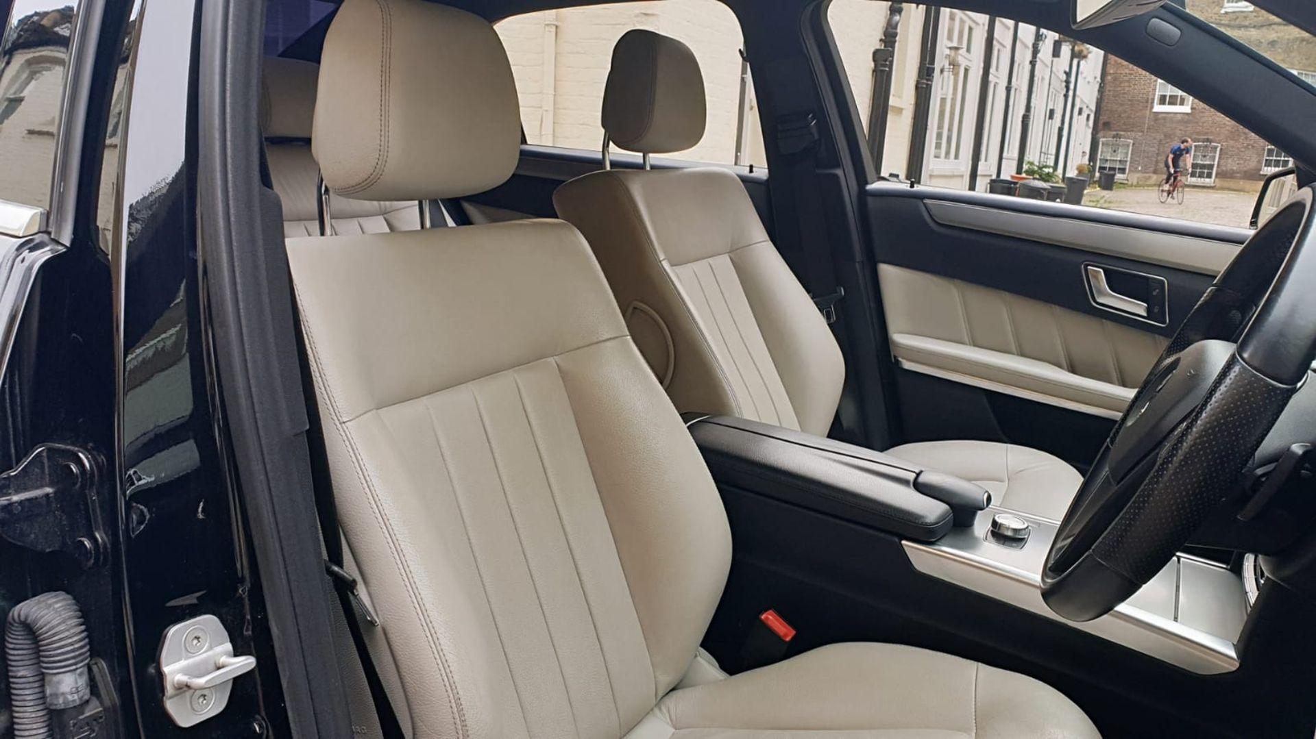 Lot 20 - 2013/13 REG MERCEDES-BENZ E220 SE CDI AUTO 2.2 DIESEL BLACK 4 DOOR SALOON *NO VAT*