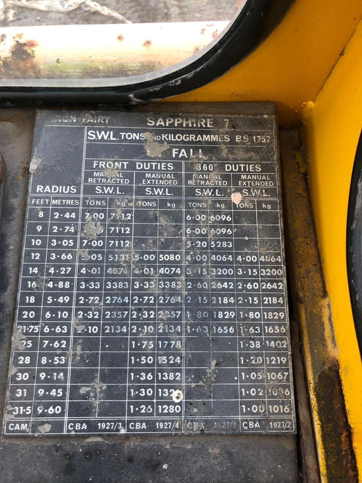 Lot 79 - IRON FAIRY CRANE, STARTS RUNS AND DRIVES *PLUS VAT*