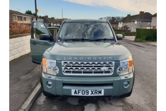 JS - 2009/09 REG LAND ROVER DISCOVERY 3 XS MWB DIESEL 4X4