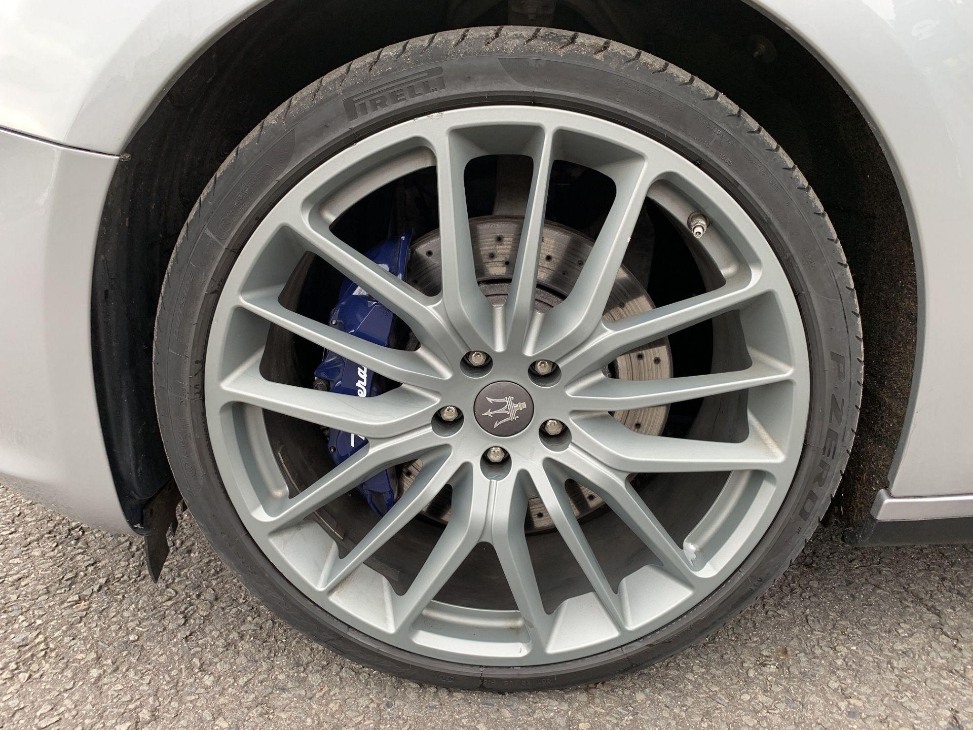 Lot 7 - 2016/16 REG MASERATI GHIBLI S V6 AUTO 3.0 PETROL 4 DOOR SALOON, SHOWING 2 FORMER KEEPERS *NO VAT*