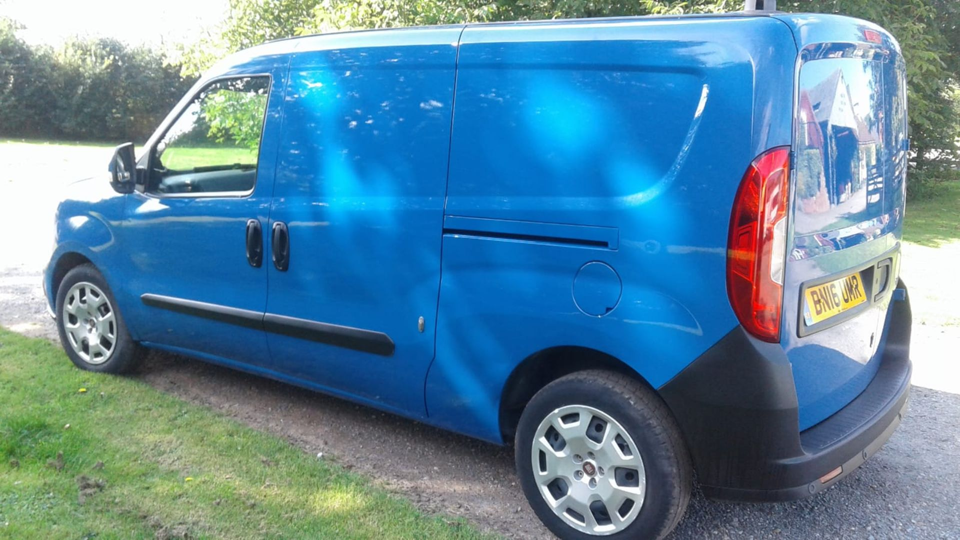 Lot 9 - 2016/16 REG FIAT DOBLO SX MULTI-JET 1.25 DIESEL BLUE PANEL VAN, SHOWING 0 FORMER KEEPERS *NO VAT*